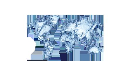 карта вода